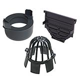 Aco Hex Drain Accessory Set (Black)