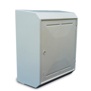 Gas Meter  Box Surface Mounted White