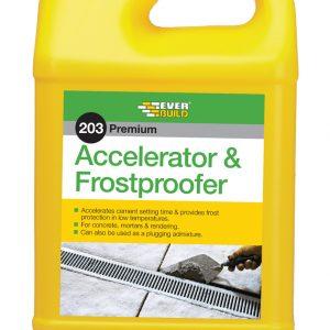Accelerator And Frostproofer 5Lt