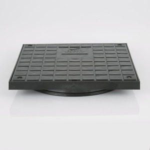 Brett Martin 280mm Square Double Seal Lid (Pedestrian)
