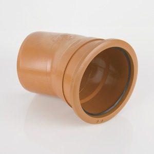 Brett Martin 160mm Single Socket 22° Bend