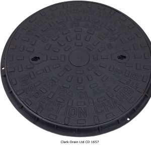 Manhole Cover 450Mm Rnd H/Duty D/Iron B125