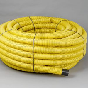 Gas Underground Perforated Ducting 50mm/63mm x 50m