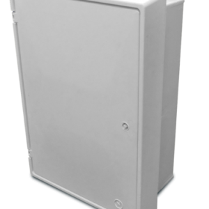 Electrical Meter Box Flush White