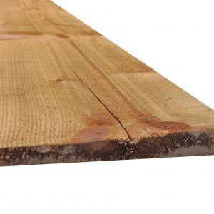 Featheredge Board Brown Treated 32mm x 175mm x 3.6m