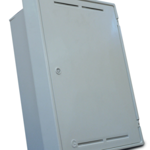 Gas Meter Box Flush White