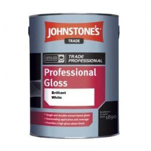 Johnstones Black Gloss 2.5Lt