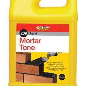 Mortar Tone Liquid 1Lt Black
