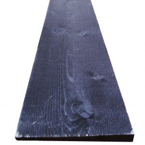 Rebated Weatherboard Black 32mm x 6mm