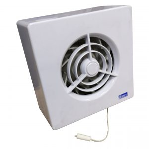 Fan Manrose Quiet 100mm Pullcord Model