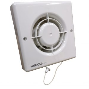 Fan Manrose Quiet 100mm Timer Model