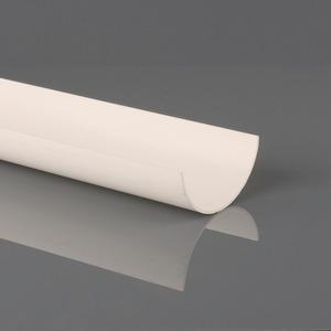 Brett Martin 112mm Roundstyle PVCu Gutter 2m White