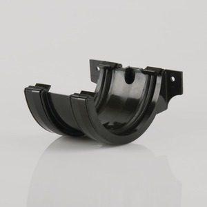 Brett Martin 112mm Roundstyle PVCu Joint/Union Black