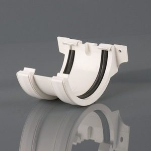 Brett Martin 112mm Roundstyle PVCu Joint/Union White