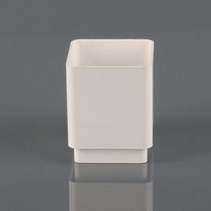 Brett Martin 65mm Square Downpipe Connector White