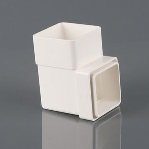 Brett Martin 65mm Square 92° Downpipe Bend White
