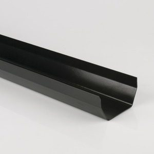 Brett Martin 114mm Squarestyle PVCu Gutter 2m Black