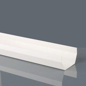 Brett Martin 114mm Squarestyle PVCu Gutter 2m White