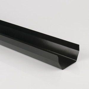Brett Martin 114mm Squarestyle PVCu Gutter 4m Black