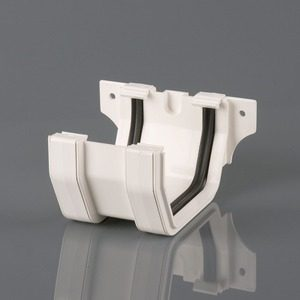 Brett Martin 114mm Squarestyle PVCu Joint/Union White