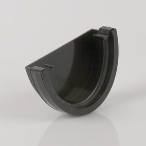 Brett Martin 115mm Deepstyle PVCu External Stopend Black