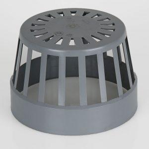 Brett Martin 160mm PVCu Vent Cowl Grey