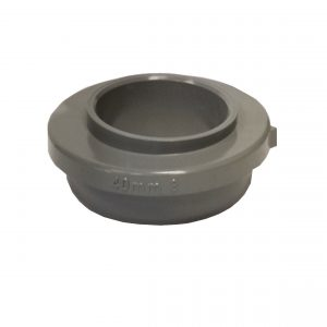 Brett Martin 40mm Solvent Weld Connection Waste Adaptor Grey
