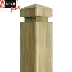 Q-Deck Plus Contemporary Newel Post 85mm x 85mm x 1500mm
