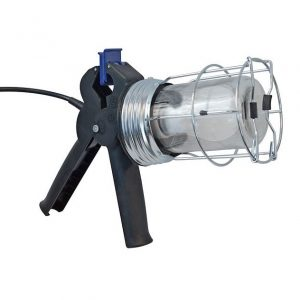 Inspection Lamp With Clamp 60 Watt