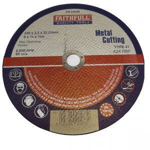 Metal Cutting Disc 225Mm