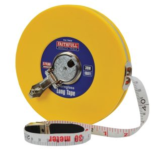 Measuring Tape 30M Fibre Glass