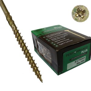 Performance Plus Screws 5 X 70mm (Box100)