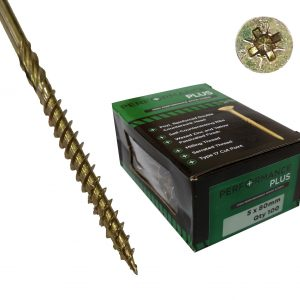 Performance Plus Screws 5 X 80mm (Box 100)