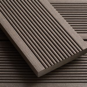 SmartBoard Chocolate Brown Wood Plastic Composite Decking 20mm x 138mm x 3600mm