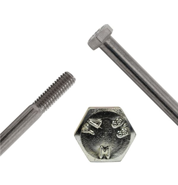 Hex Head Bzp Bolt M10 X 130mm
