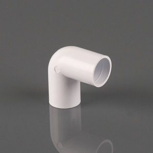 Brett Martin 21.5mm Overflow 90° Knuckle Bend White