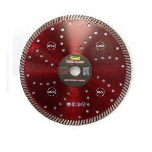 Diamond Disc 230Mm/22Mm Turbo Allmat