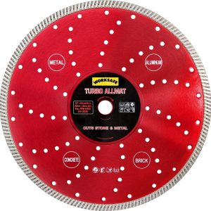 Diamond Disc 300Mm/20Mm Turbo Allmat