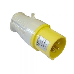 Yellow 110V Plug 16 Amp