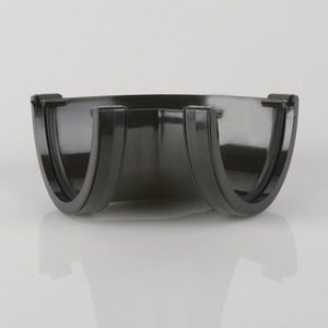 Brett Martin 115mm Deepstyle PVCu 135° Gutter Angle Black
