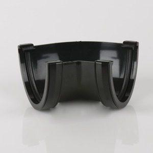 Brett Martin 115mm Deepstyle PVCu 120° Gutter Angle Black
