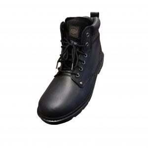 Contractor Black Boots Size UK 8