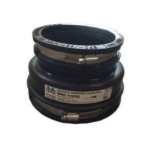 Flexible Drain Adaptor 144-160mm / 110-122mm
