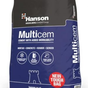 Hanson Multicem Cement Durable Bag 25kg