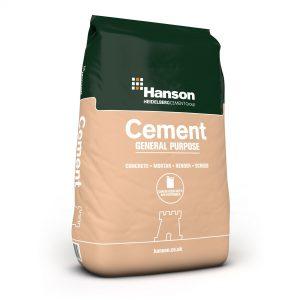 Hanson General Purpose Cement 25kg ( Paper)