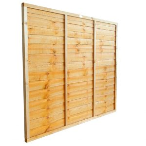 Closeboard Fence Panel 1.2m Gold